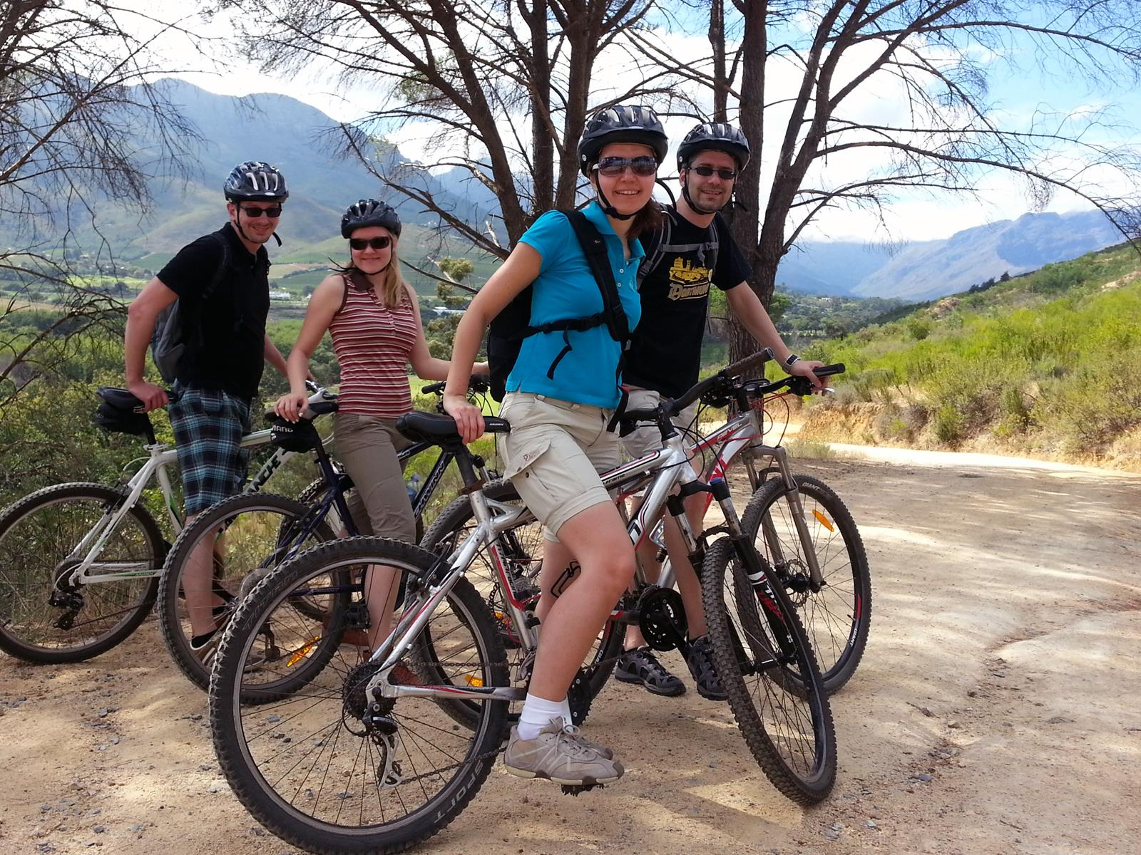Bicycle tour in Stellenbosch