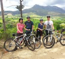 Guided Bicycle Tour in Jonkershoek
