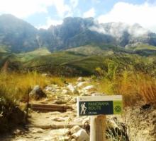 Hikes in Stellenbosch Panorama  Jonkershoek